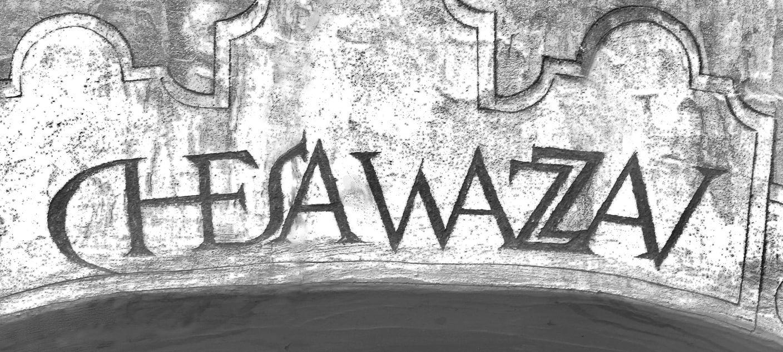 Scraffito :   Kennzeichen alter Engadinerhäuser